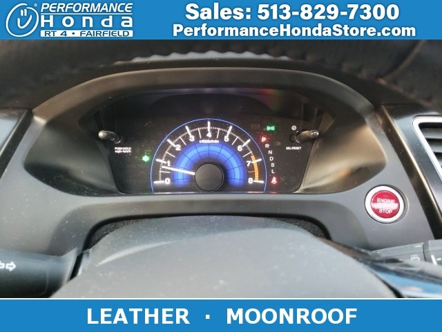 Certified Pre-Owned 2015 Honda Civic Sedan EX-L