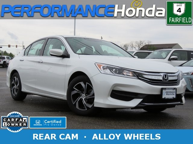 Certified Pre Owned 2017 Honda Accord Sedan Lx