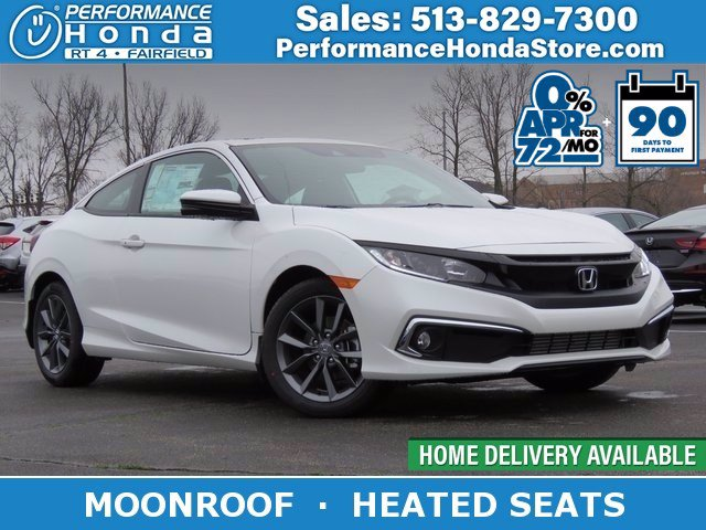 new 2020 honda civic coupe ex in fairfield lh352608 performance honda performance honda