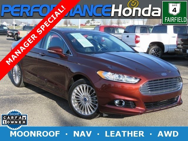 Pre Owned 2016 Ford Fusion Anium