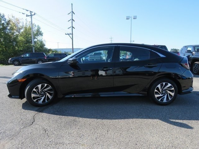 Certified Pre-Owned 2017 Honda Civic Hatchback LX