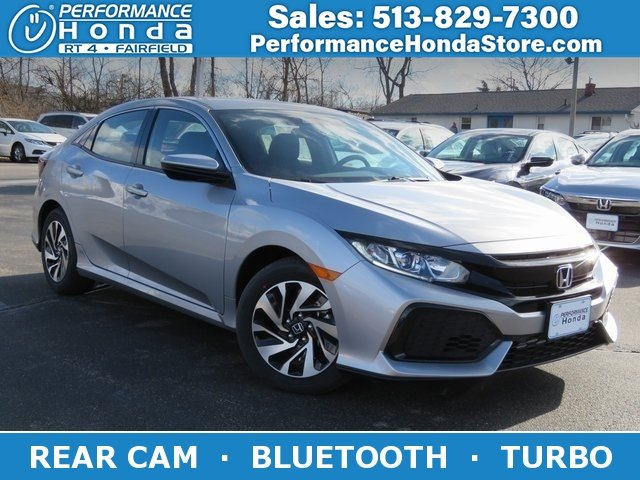 New 2019 Honda Civic Hatchback LX FWD Hatchback