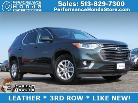 Pre-Owned 2019 Chevrolet Traverse LT Cloth