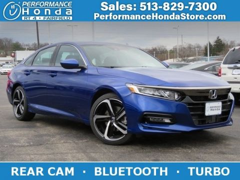 New 2019 Honda Accord Sedan Sport 1.5T