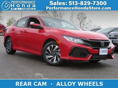 New 2019 Honda Civic Hatchback LX
